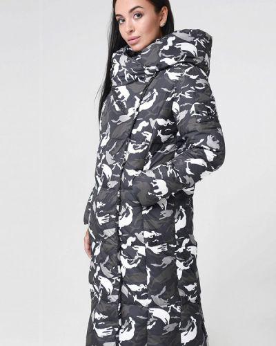 Зимняя куртка осенняя серая Misun