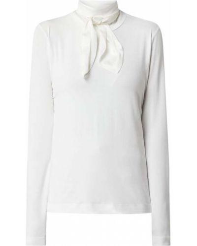 Biała bluzka z długimi rękawami z wiskozy Riani