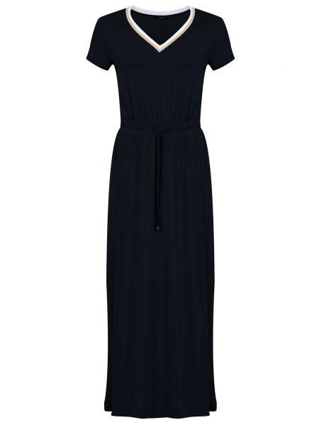 Черное платье из вискозы Liu Jo