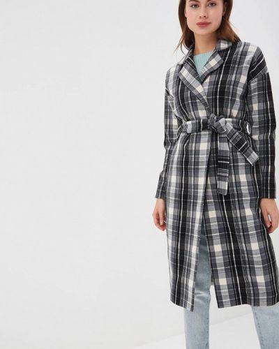 Пальто демисезонное серое Sahera Rahmani
