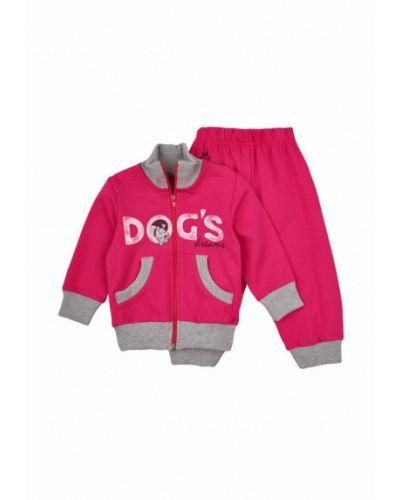 Розовый спортивный костюм Robinzon