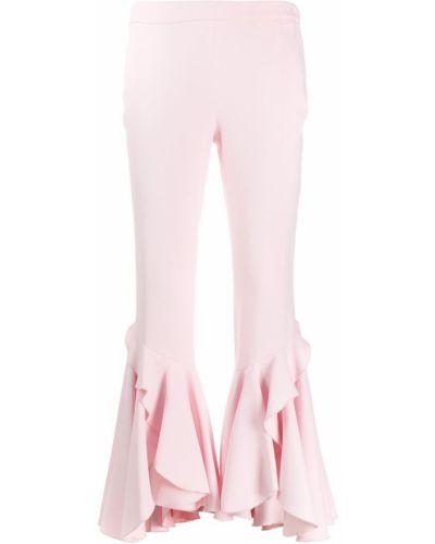 Укороченные брюки розовый брюки-хулиганы Giambattista Valli