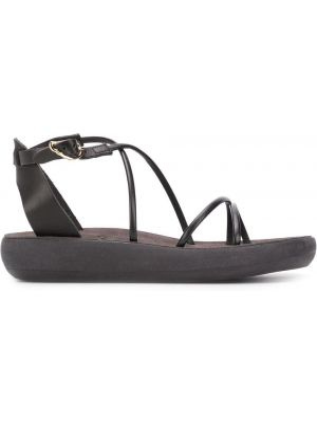 Sandały skórzane - czarne Ancient Greek Sandals