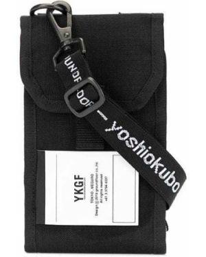 Черная нейлоновая сумка на плечо Yoshiokubo