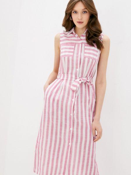 Платье платье-рубашка розовое Imocean
