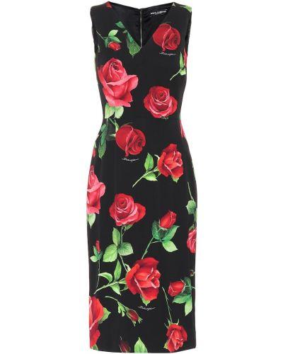 Приталенное платье Dolce & Gabbana