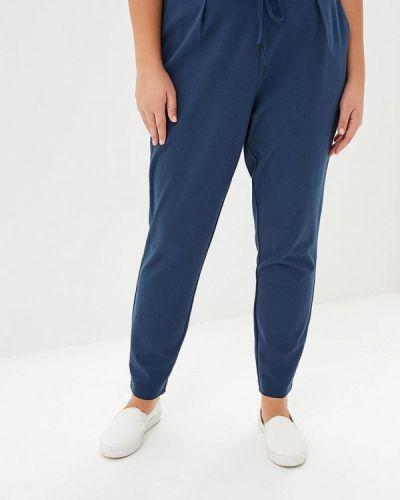 Синие зауженные брюки Junarose