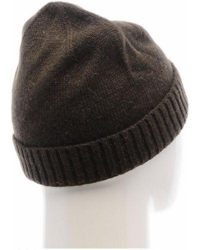 Шерстяная шапка бини - коричневая Bergans