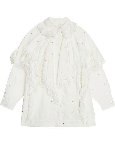 Пиджак оверсайз - белый Alena Akhmadullina