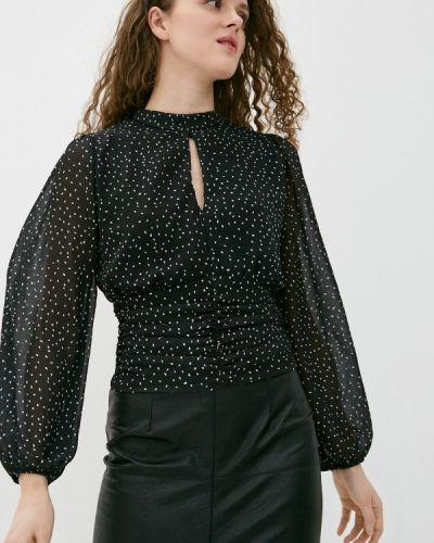 Черная блузка с длинными рукавами Haily's