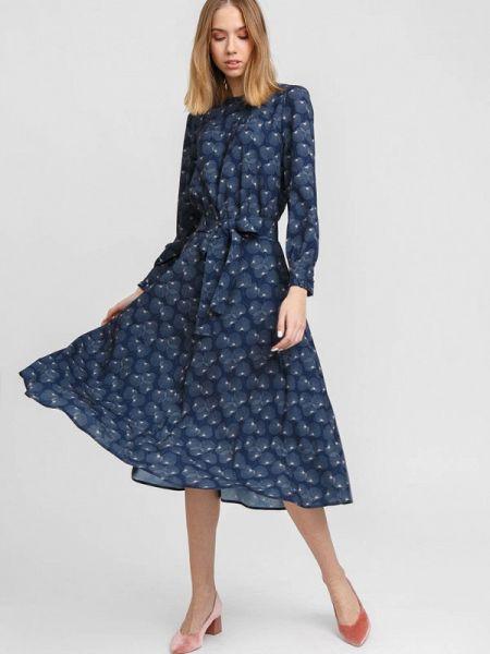 Платье - синее Bizzarro