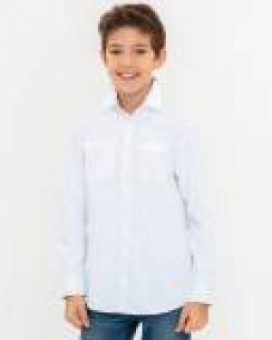 Рубашка белая прогулочный Button Blue