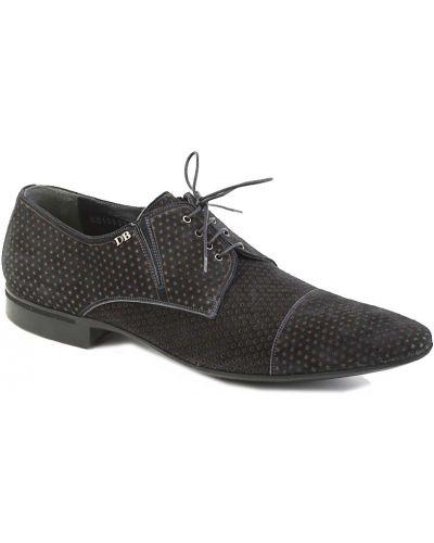 Синие туфли замшевые Dino Bigioni