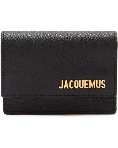 Кожаная сумка через плечо поясная Jacquemus