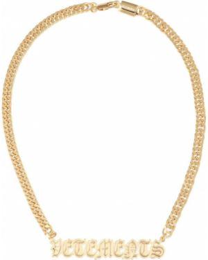 Ожерелье желтый Vetements