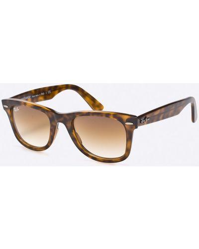 Солнцезащитные очки пластиковые стеклянные Ray-ban
