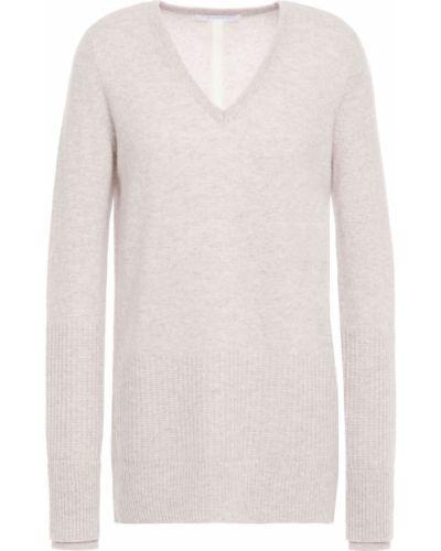 Облегченный серый кашемировый свитер Duffy