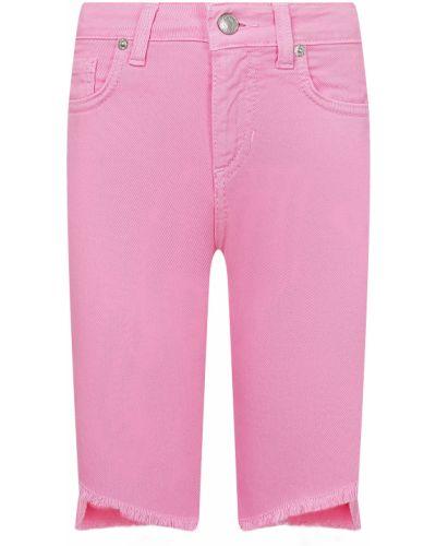 Розовые хлопковые шорты Vicolo
