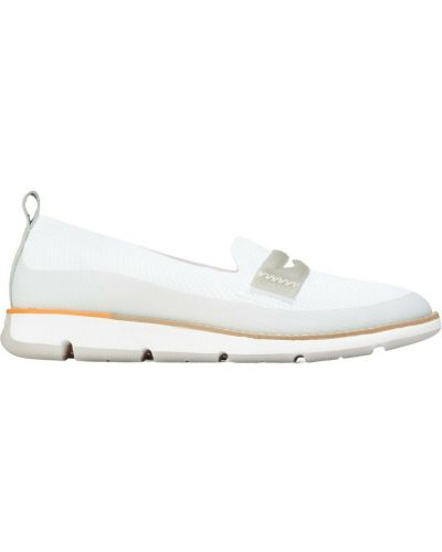 Białe loafers Cole Haan