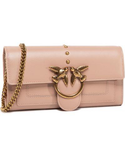 Światło różowy portfel Pinko