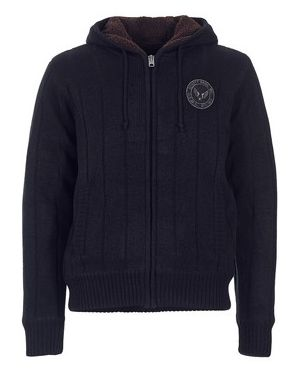 Czarny sweter Schott