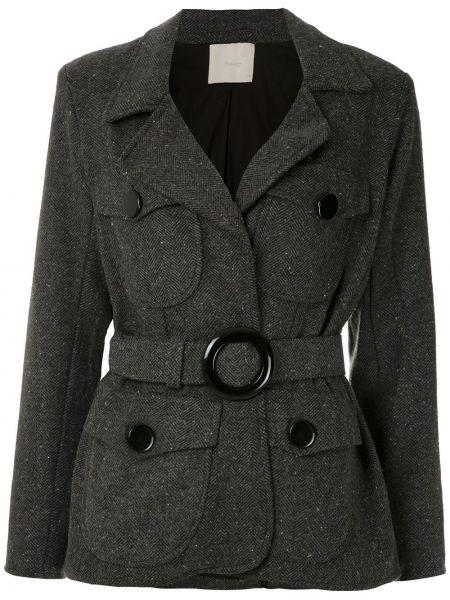 Длинное пальто с капюшоном Framed