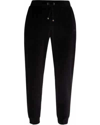 Спортивные брюки бархатные с поясом Emporio Armani
