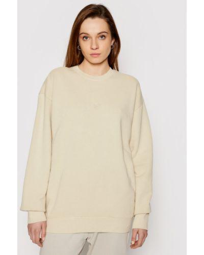 Bluza oversize - beżowa Reebok Classic