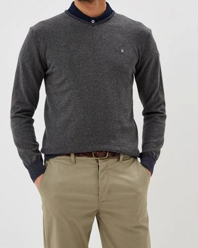 Пуловер серый турецкий Giorgio Di Mare