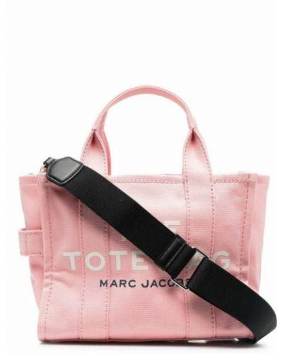 Torebka - różowa Marc Jacobs