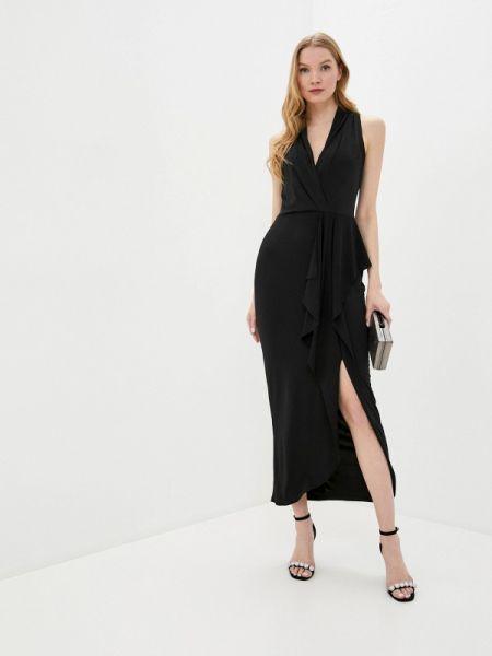 Вечернее платье черное весеннее Wallis