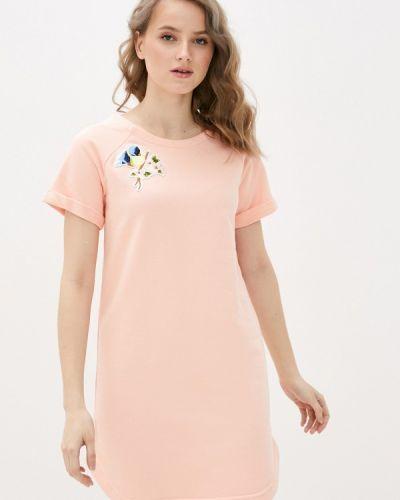 Розовое платье D.s