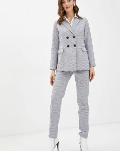 Костюмный серый костюм классический Imocean