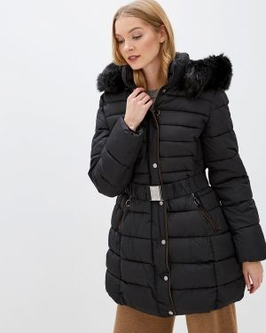 Зимняя куртка утепленная черная Z-design