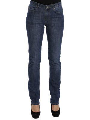 Хлопковые джинсы - синие Cerruti 18crr81