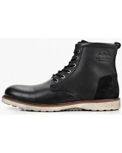 Ботинки осенние кожаные демисезонный Pier One
