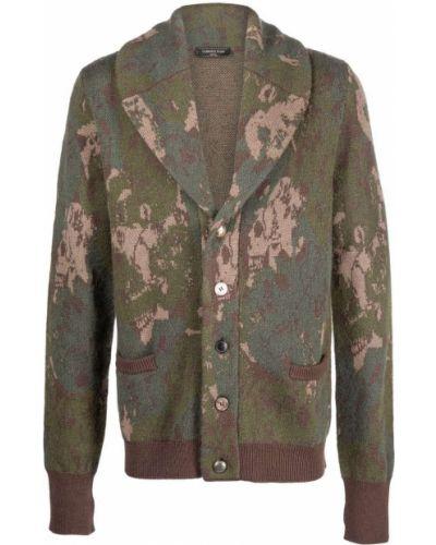 Zielony sweter moherowy Gabriele Pasini