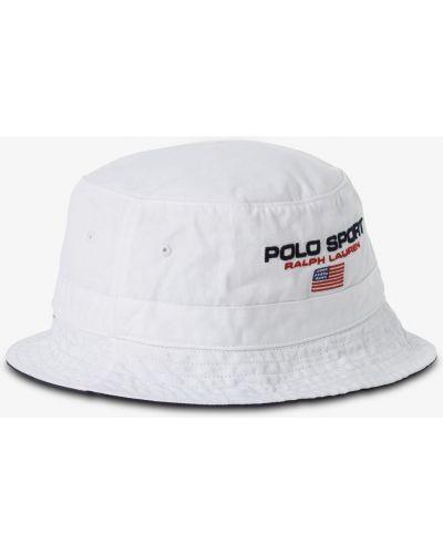 Biały kapelusz Polo Ralph Lauren