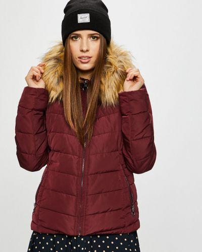Куртка с капюшоном с карманами утепленная Only