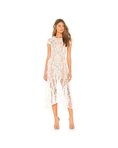 Летнее платье с вышивкой сетчатое Bronx And Banco