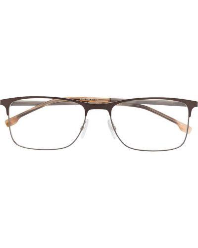 Oprawka do okularów wytłoczony metal prostokątny Boss Hugo Boss