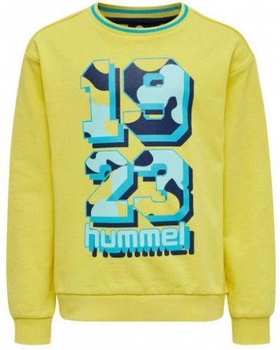 Żółta bluza dresowa Hummel