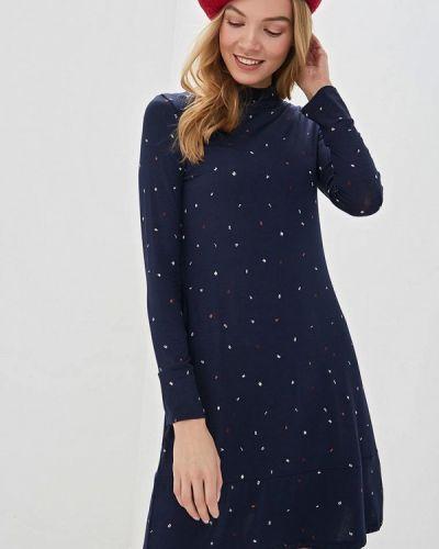 Повседневное платье синее Marks & Spencer