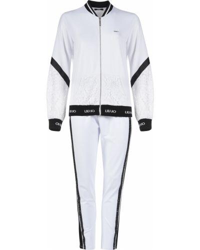 Костюмный белый спортивный костюм Liu Jo