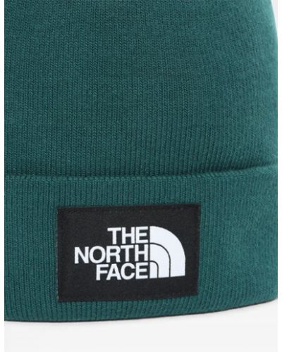 Шапка бини - зеленая The North Face
