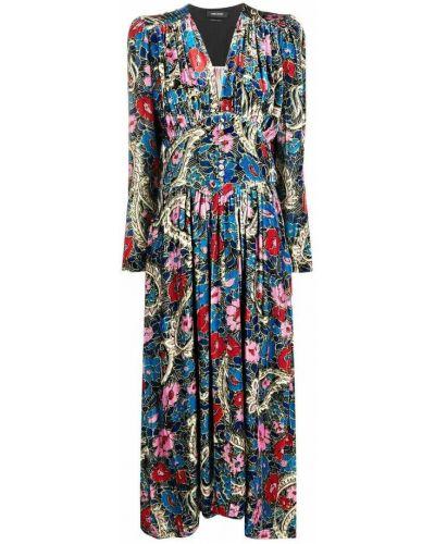 Sukienka - niebieska Isabel Marant