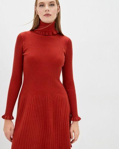 Вязаное платье - коричневое Max&co