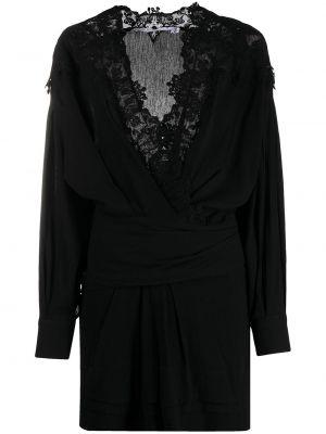 Платье макси длинное - черное Iro