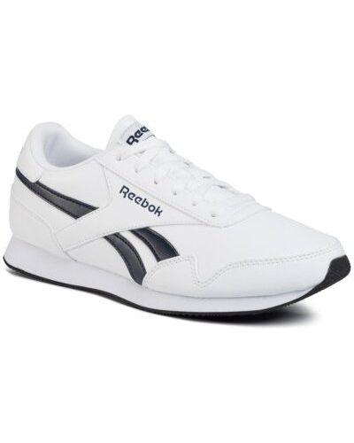 Białe joggery Reebok
