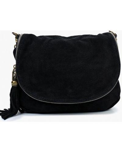 Черная сумка через плечо Roberta Rossi